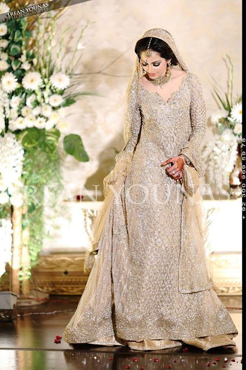 Latest asian bridal wedding gowns designs 2016 2017 for Asian bridal wedding dresses