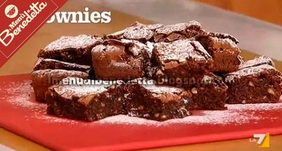 Brownies la ricetta di benedetta parodi for Cucinare a 70 gradi