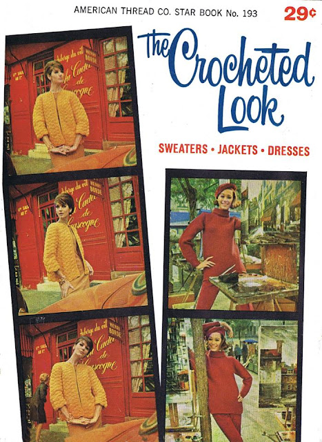 The Vintage Pattern Files: Free 1960's Crochet Booklet - The Crocheted Look