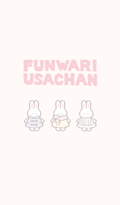 The fluffy bunny theme 4 (f)