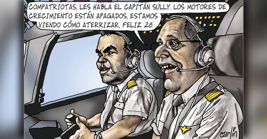 Carlincaturas Jueves 27 Julio 2017 - La República