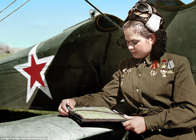Yekaterina Ryabova Night Witches worldwartwo.filminspector.com