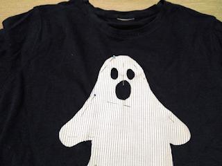 camiseta halloween hecha a mano