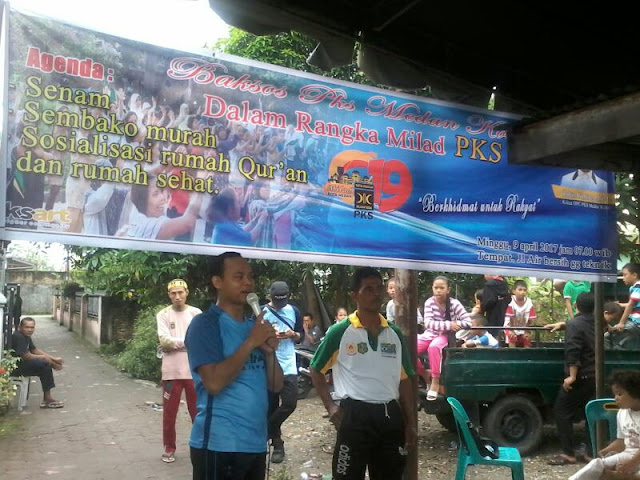 Warga Senang, PKS Medan Kota Kembali Gelar Program Berkhidmat untuk Rakyat