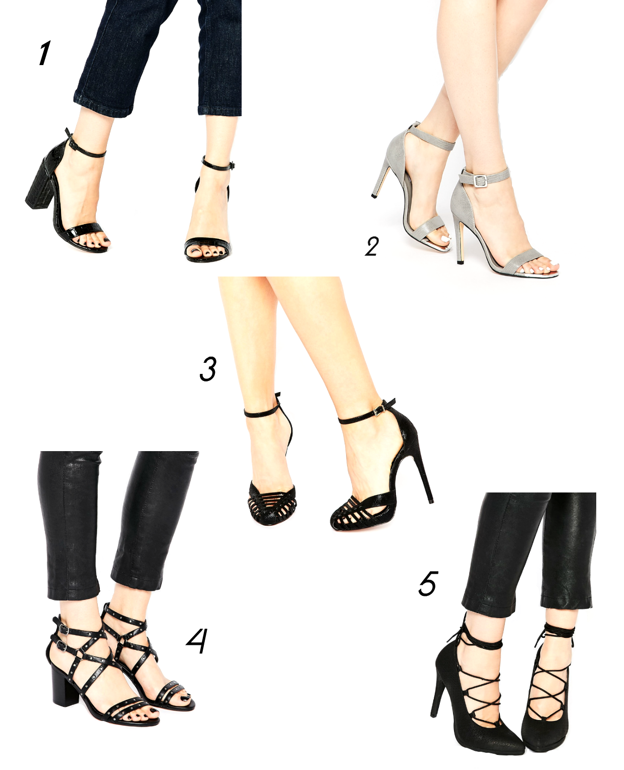 asos shoes, asos sale, caged heels, strappy heels, suz and the sun shoes