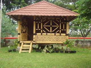 jasa pembuatan gazebo saung bambu jakarta pusat murah bagus berkualitas