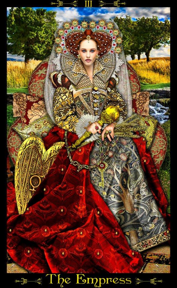 Tarot Brisa de Mar: Combinaciones con la emperatriz en el trabajo