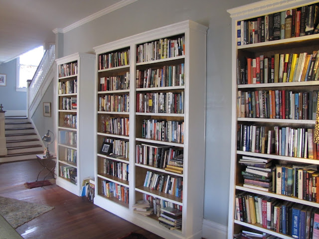 The Kornegay home library