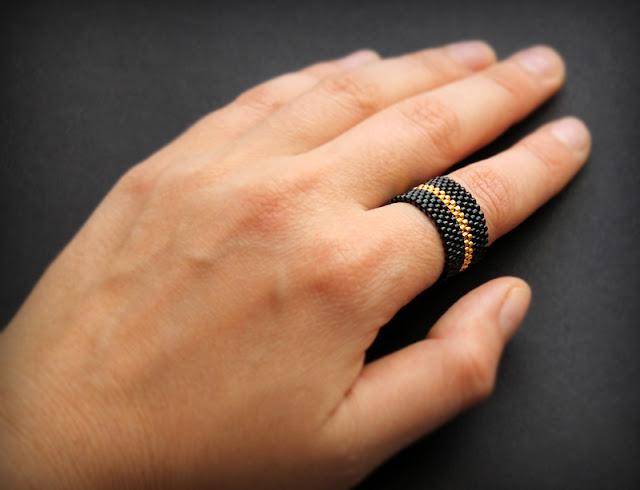 купить украшения из бисера в интернет магазине  купить широкое женское кольцо 20 размера