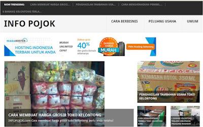 Portal informasi bisnis