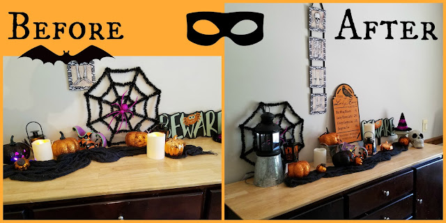 Halloween Decor Tricks