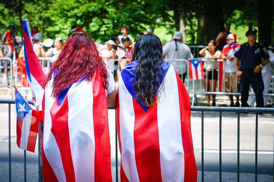 a photo of the puerto rican day parade in new york by daniel south