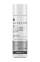 Paulas choice BHA salicylic acid for blocked pores and acne prone skin and anti ageing. Chemical exfoliator skincare product.