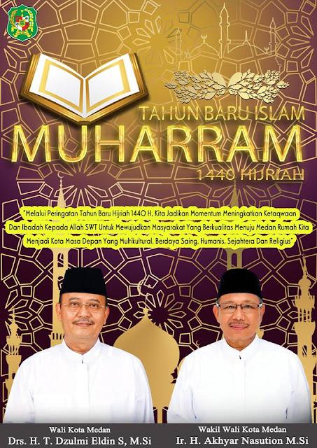 Walikota Medan Ajak Umat Muslim Hadiri Tabligh Akbar Tahun Baru Islam