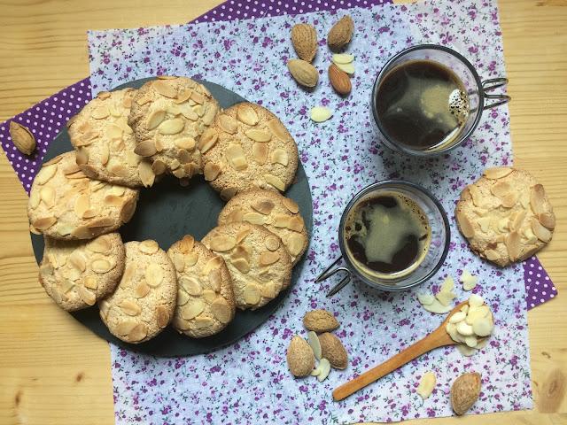 galletas de almendras receta