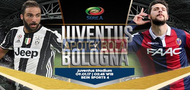 Prediksi Pertandingan Juventus vs Bologna 9 Januari 2017
