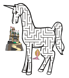 Free for kids: Unicorn maze