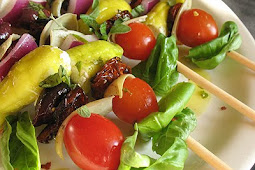 Skewered Greek-Style Salad