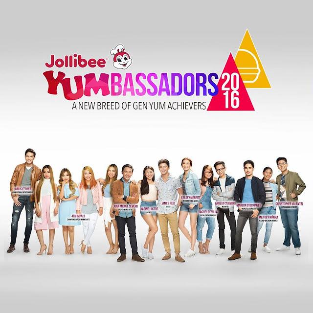 JOLLIBEE Yumbassadors of 2016