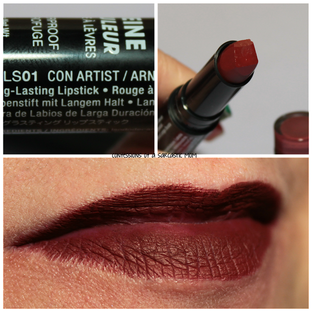NYX Full Throttle Lipstick in Con Artist