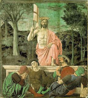ピエロ・デラ・フランチェスカ、復活、チヴィコ美術館