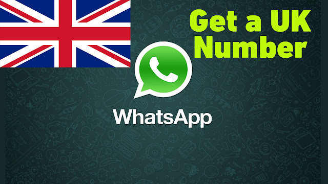 Create WhatsApp with a Free UK phone number 2018