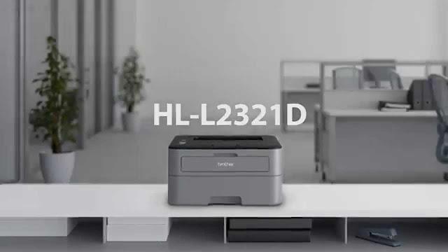 Máy in laser đơn sắc HL-L2321D in đảo mặt tự động