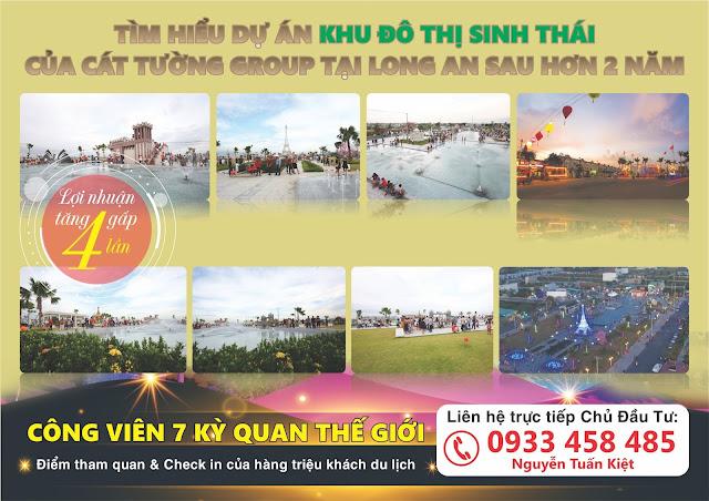 Tìm hiểu dự án Khu đô thị Du lịch Cát Tường Phú Sinh tại Đức Hòa, Long An sau 2,5 năm