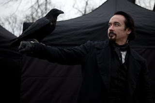John Cusack as Edgar Allan Poe in The Raven