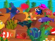 لعبة الاسماك المخفية
