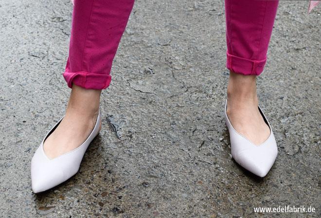 Flache Schuhe richtig kombinieren