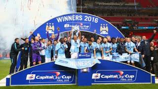 Manchester City rebut Piala Liga Inggris lewat adu penalti