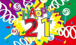 Zack Wiant celebrates his 21st birthday