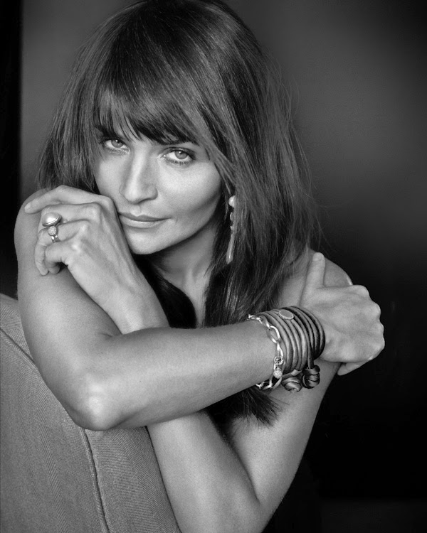 Helena Christensen Photographed by Marc Hom for Ole Lynggaard Copenhagen