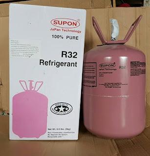 Bán Bình Gas Điều Hòa R22, R410A, R32