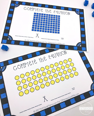 multiplication math center