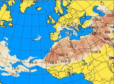 La calima abandonará Canarias, por el momento, el sábado 26 de agosto a última hora de la tarde