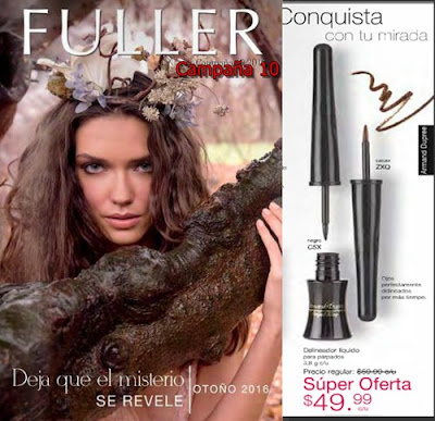 Campaña 10 Fuller Cosmetics