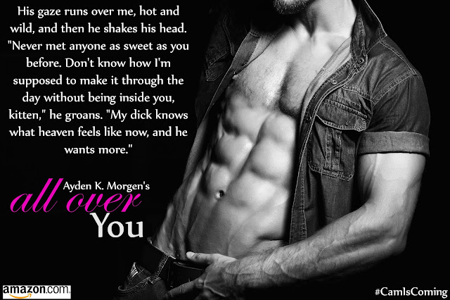 Cover Reveal: All Over You by Ayden K Morgen 8