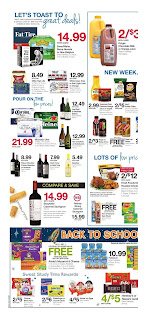 Kroger Ad August 14 - 20, 2019 and Kroger Ad 8/21/19
