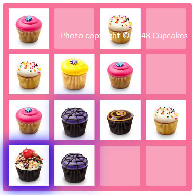 2048 Cupcakes, free online game