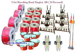Dum Band SD Kualitas Standard 24 Personel
