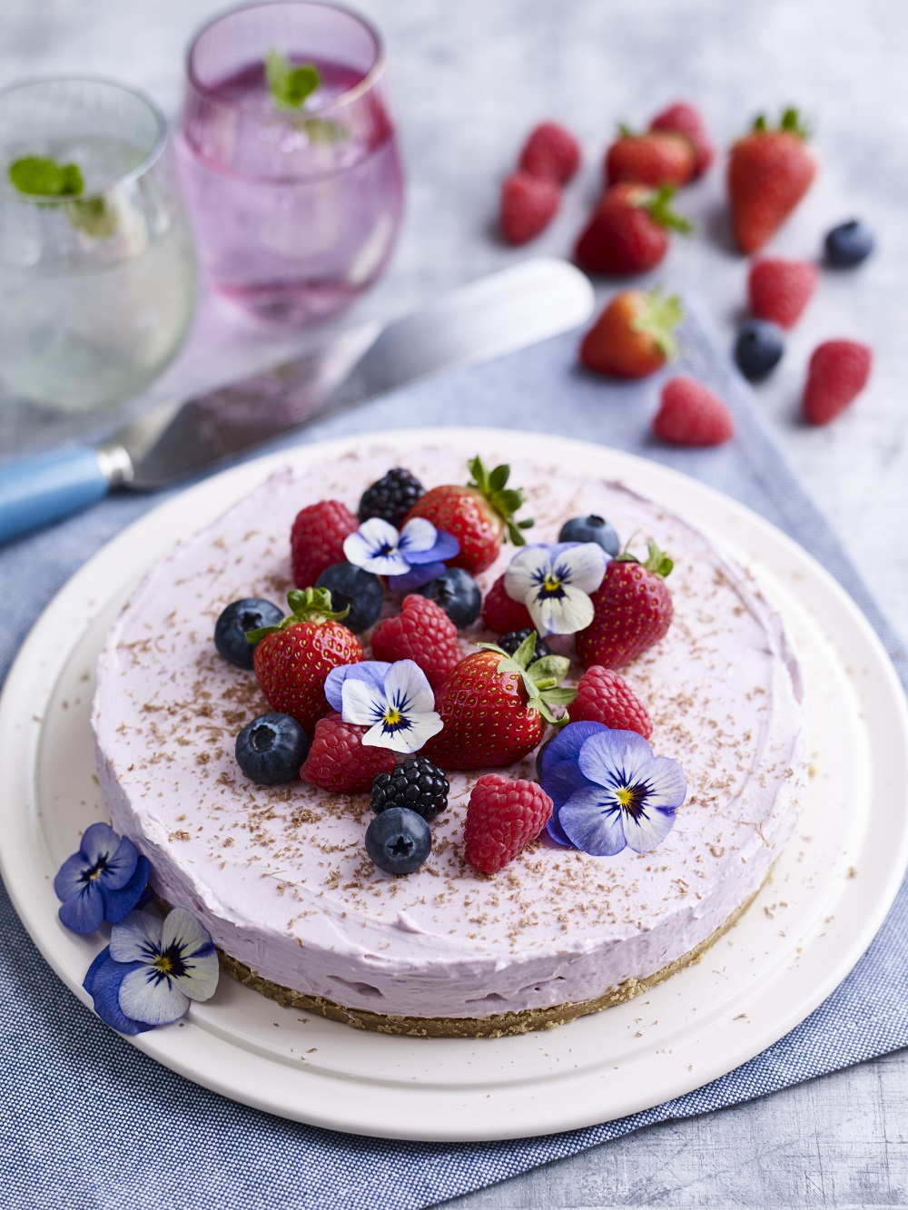 BerryWorld Mixed Berry Cheesecake anyone?