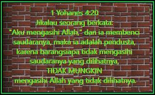 Ayat-ayat Alkitab Tentang Cinta Kasih Persaudaraan