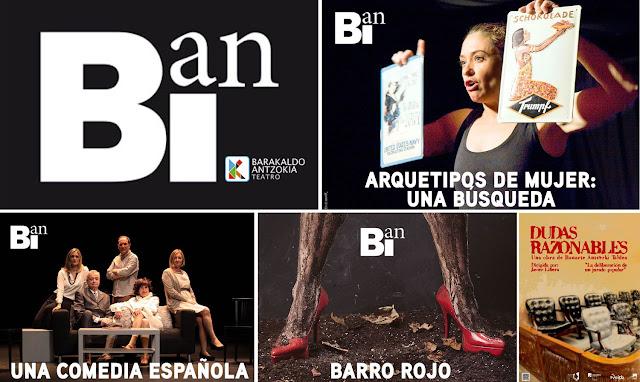 Programación del ciclo BIan en el Teatro Barakaldo