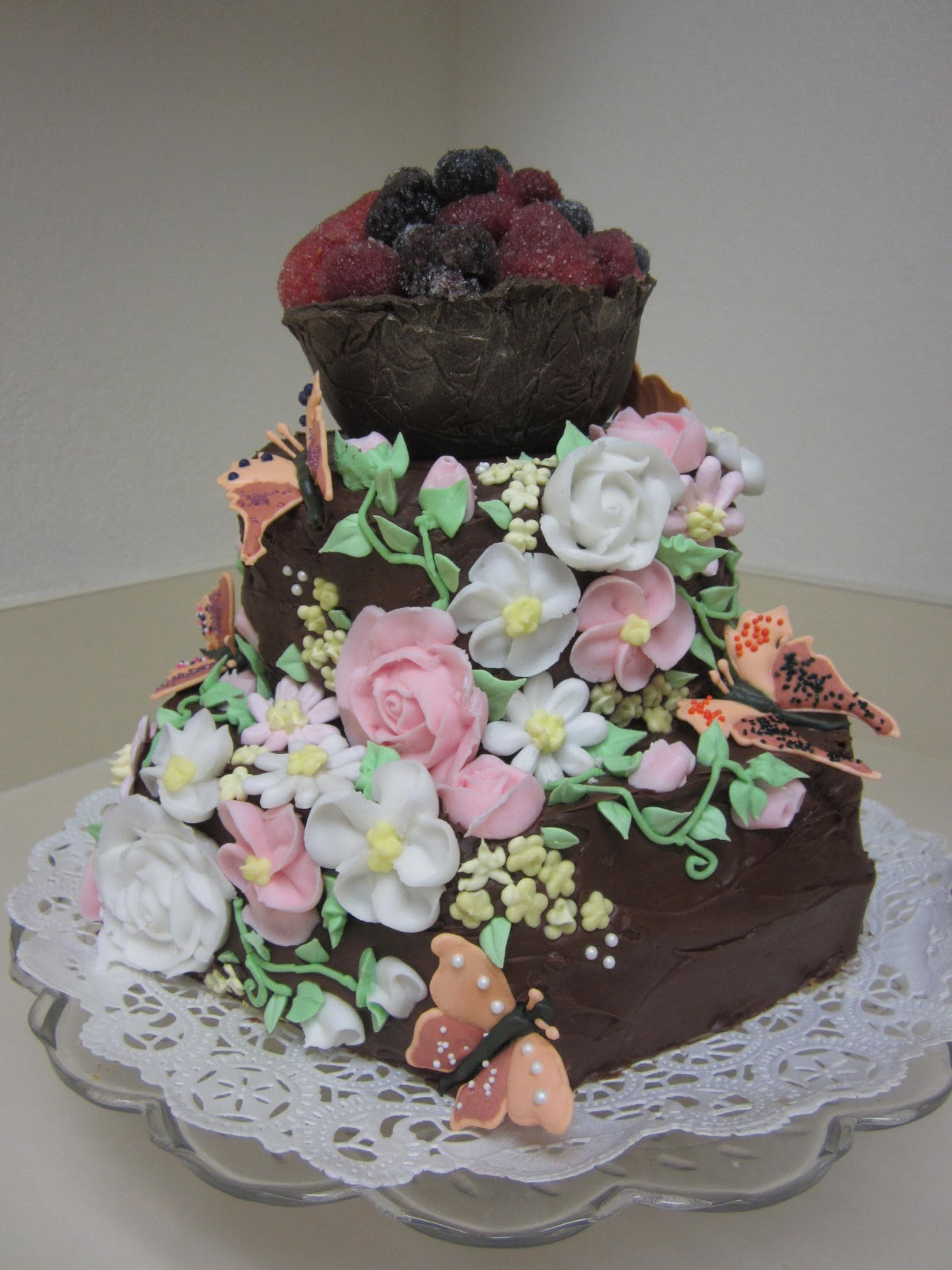 Created by Kelli: New Cake Decorating Techniques