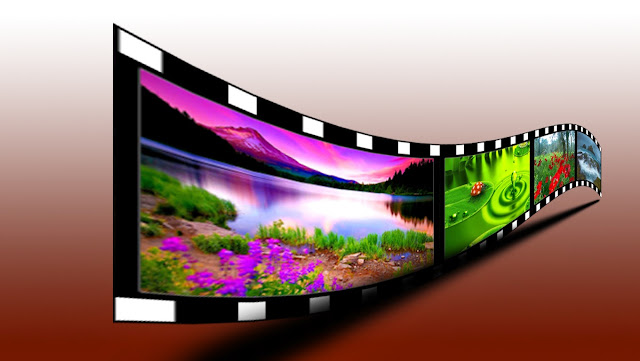3d film roll effect