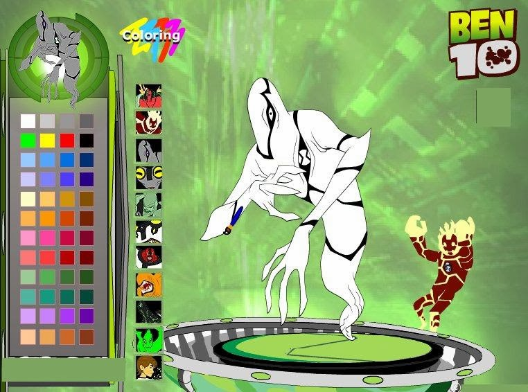 ben 10 alien coloring online game latest technology news