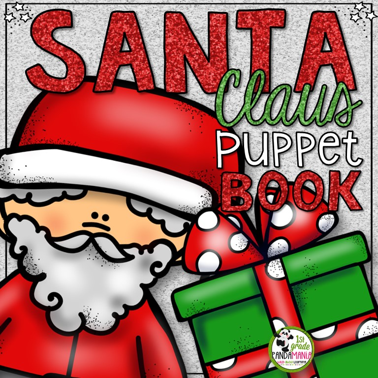 our students love making these adorable puppet books and reading them over and over using the puppet to tell the story santa claus christmas - Books About Santa Claus 2