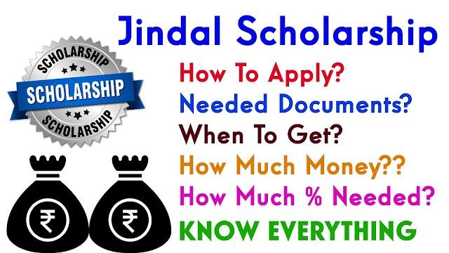 Jindal Scholarship - Sitaram Jindal Scholarship